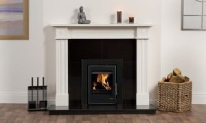 27 Inspirational Black and White Fireplace