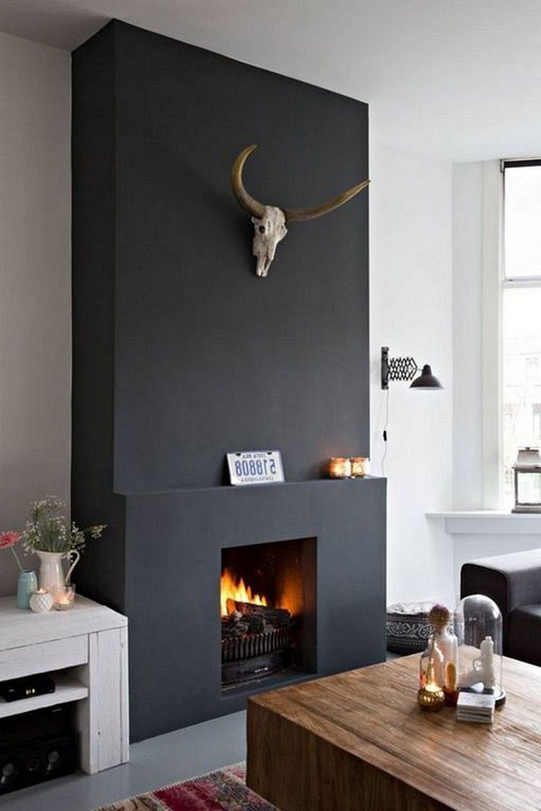 Black Fireplace Beautiful 28 Marvelous Elegant and Modern Black Fireplace Design