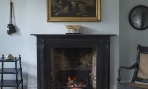 11 Elegant Black Marble Fireplace