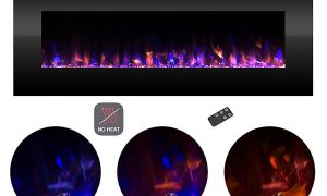 25 Lovely Blue Electric Fireplace