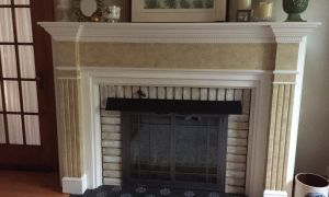 23 Fresh Board and Batten Fireplace