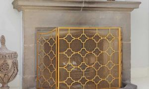12 Unique Brass Fireplace Screen