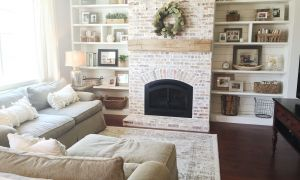 28 Best Of Brick Fireplace with White Mantle