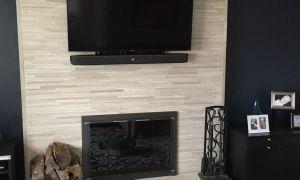 28 Lovely Brick Tile Fireplace