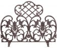 Bronze Fireplace Screen Awesome Uniflame Single Panel Bronze Finish Cast Aluminum Screen In