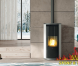 "Bronze Fireplace Screen Luxury 8 2kw ""edilkamin"" Evia Pellet Stove Display Model In Mullingar"