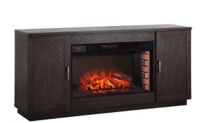 19 Awesome Brown Fireplace Tv Stand