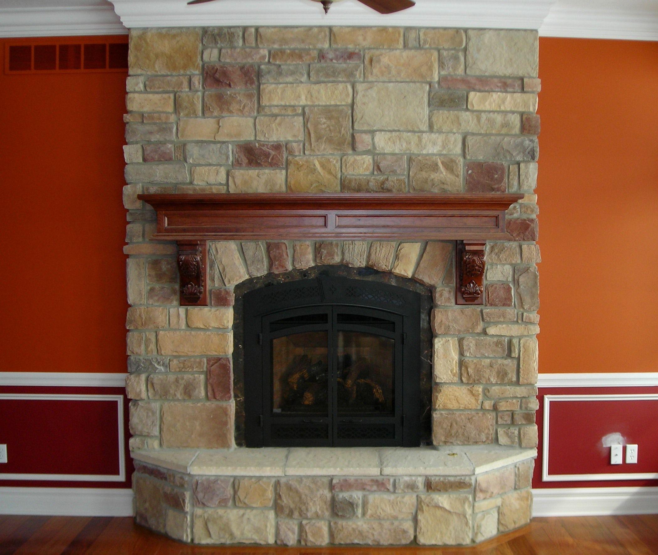 Bucks Fireplace New Fireplace Fox River ashlar J&n Stone