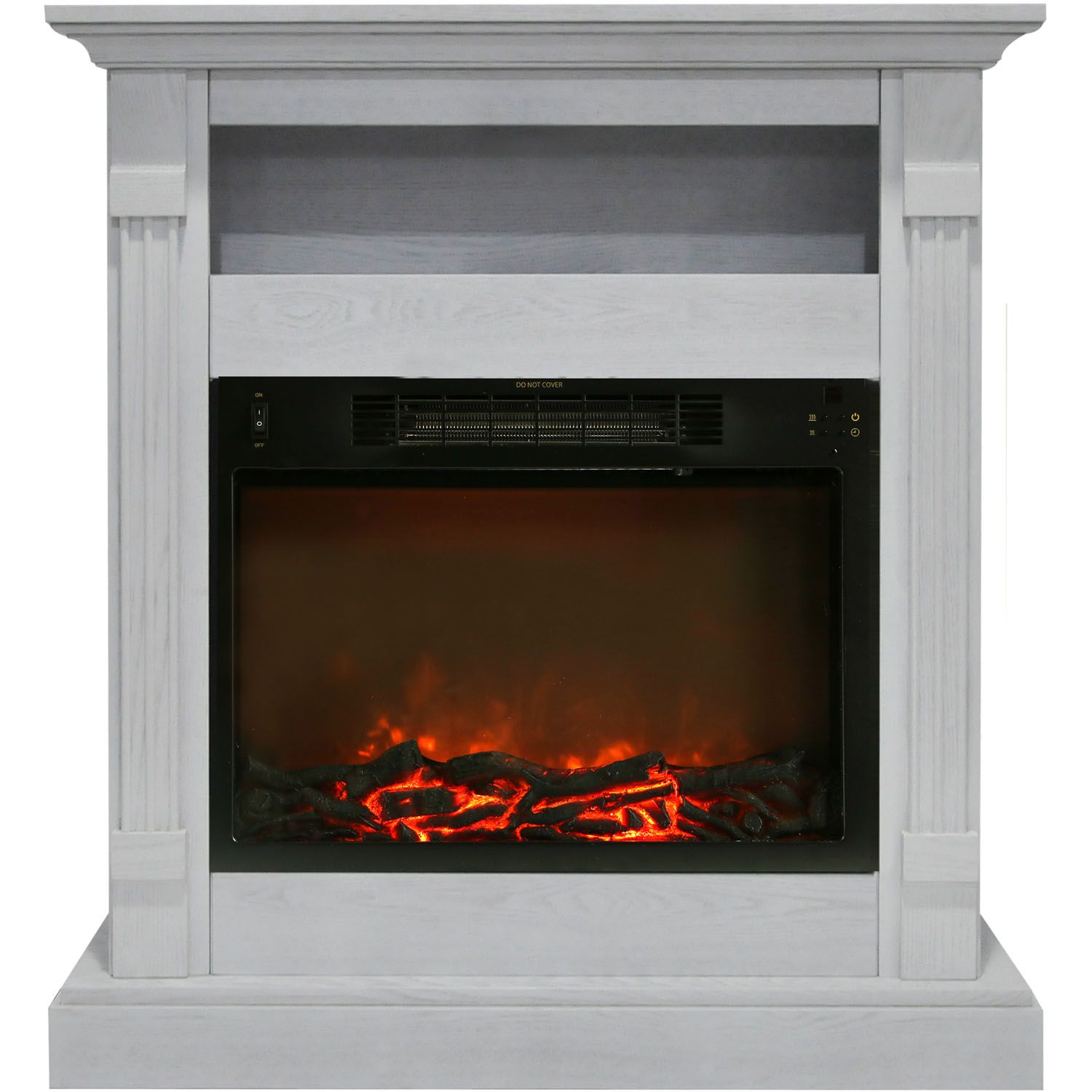 Cambridge Fireplaces New Cambridge Sienna Fireplace Mantel with Electronic Fireplace
