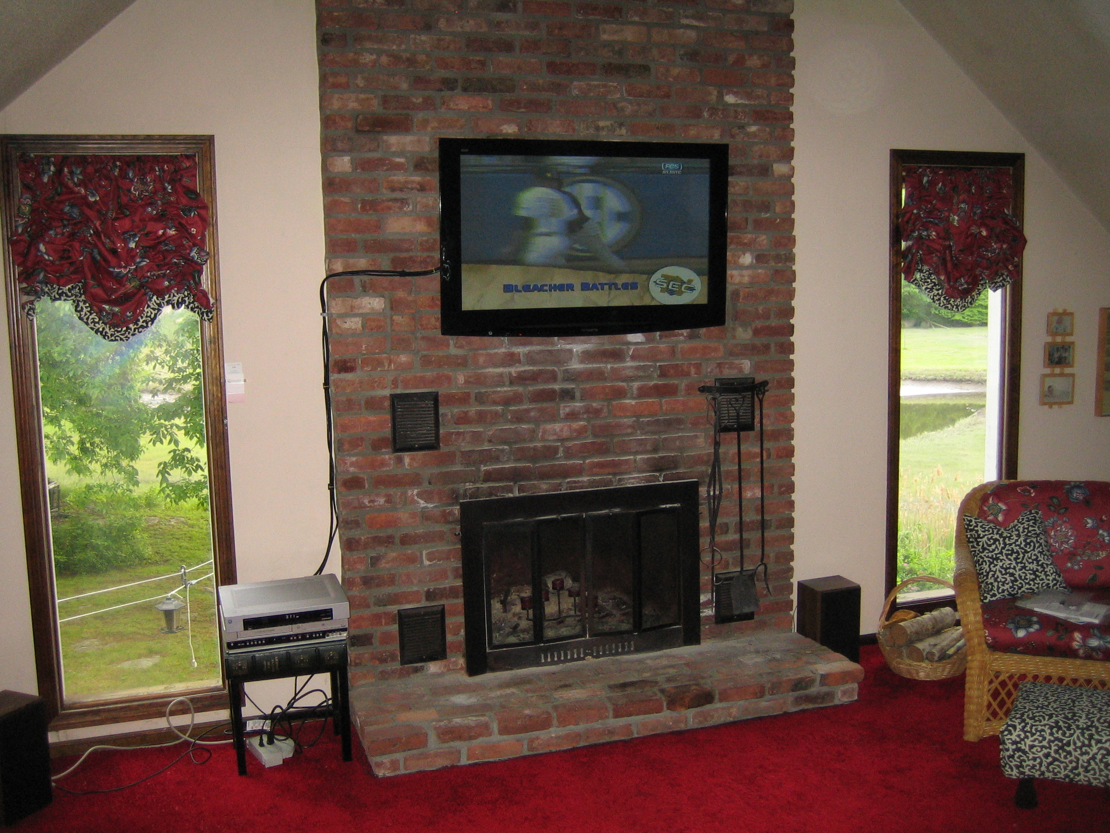 Can You Mount A Tv On A Brick Fireplace Best Of 100 Tv Brick Fireplace – Yasminroohi