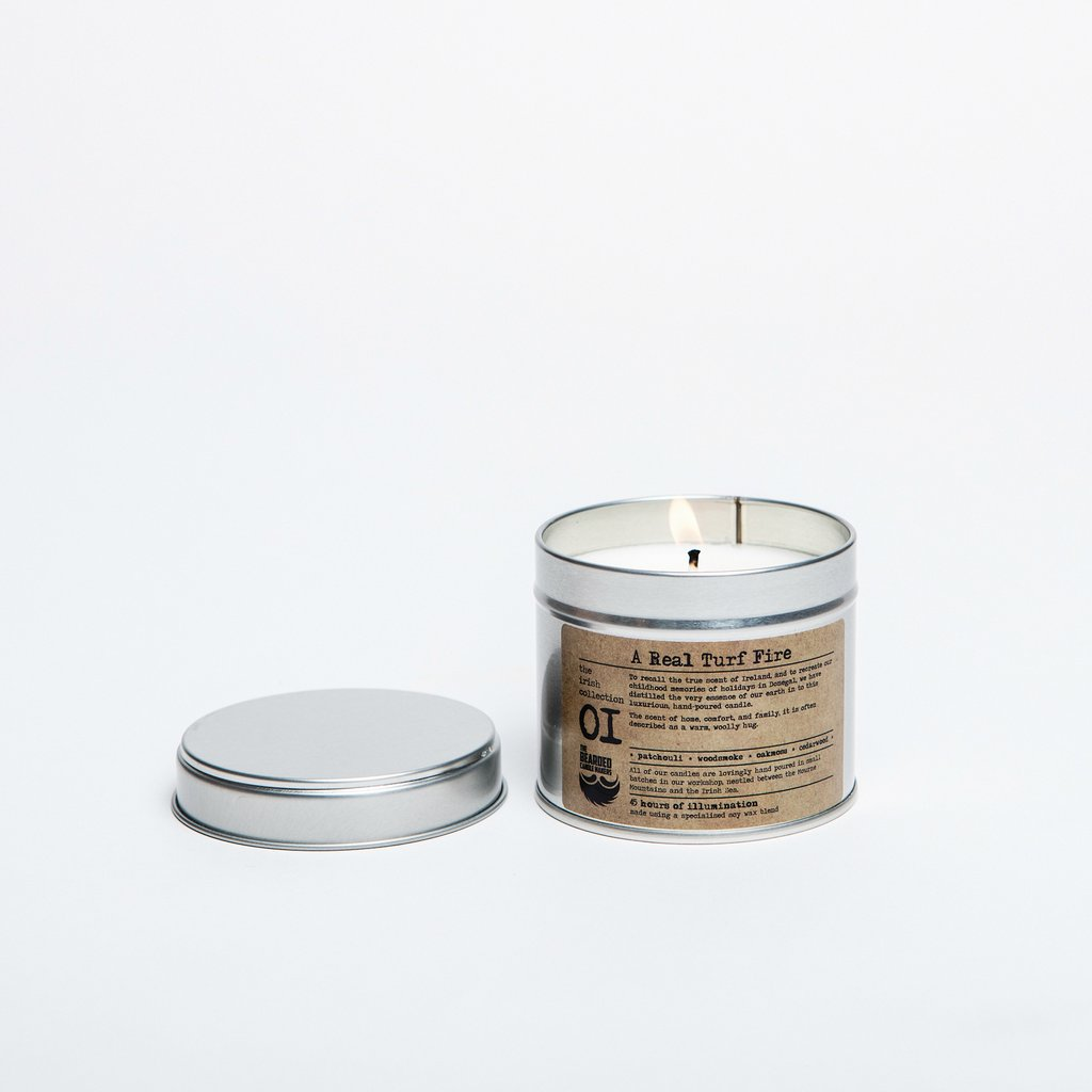 Candle that Smells Like Fireplace Fresh A Real Turf Fire Candle