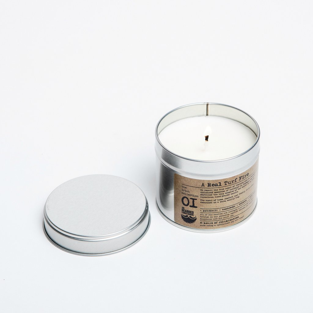 Candle that Smells Like Fireplace Unique A Real Turf Fire Candle