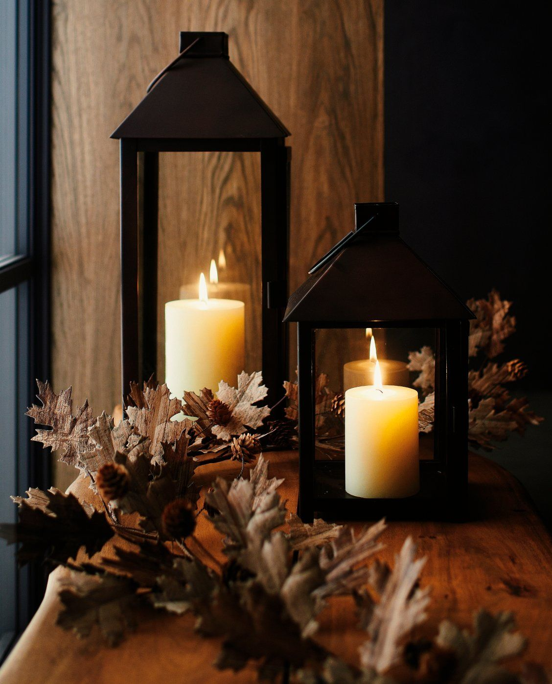 Candles for Fireplace Display Beautiful Our Fall Mantra Cozy Autumn Inspiration
