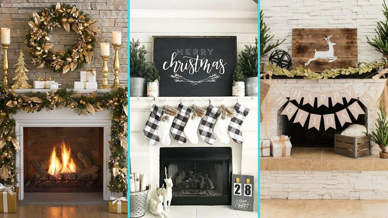 Candles for Fireplace Display Elegant ❤ Diy Shabby Chic Style Christmas Mantle Decor Ideas❤ Christmas Fireplace Decor Flamingo Mango