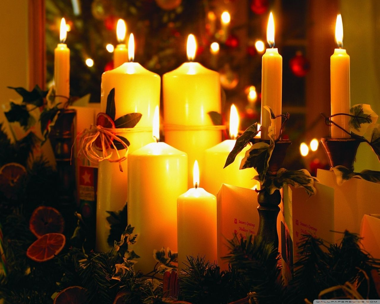 Candles for Fireplace Display Unique Beautiful Christmas Images Google Search