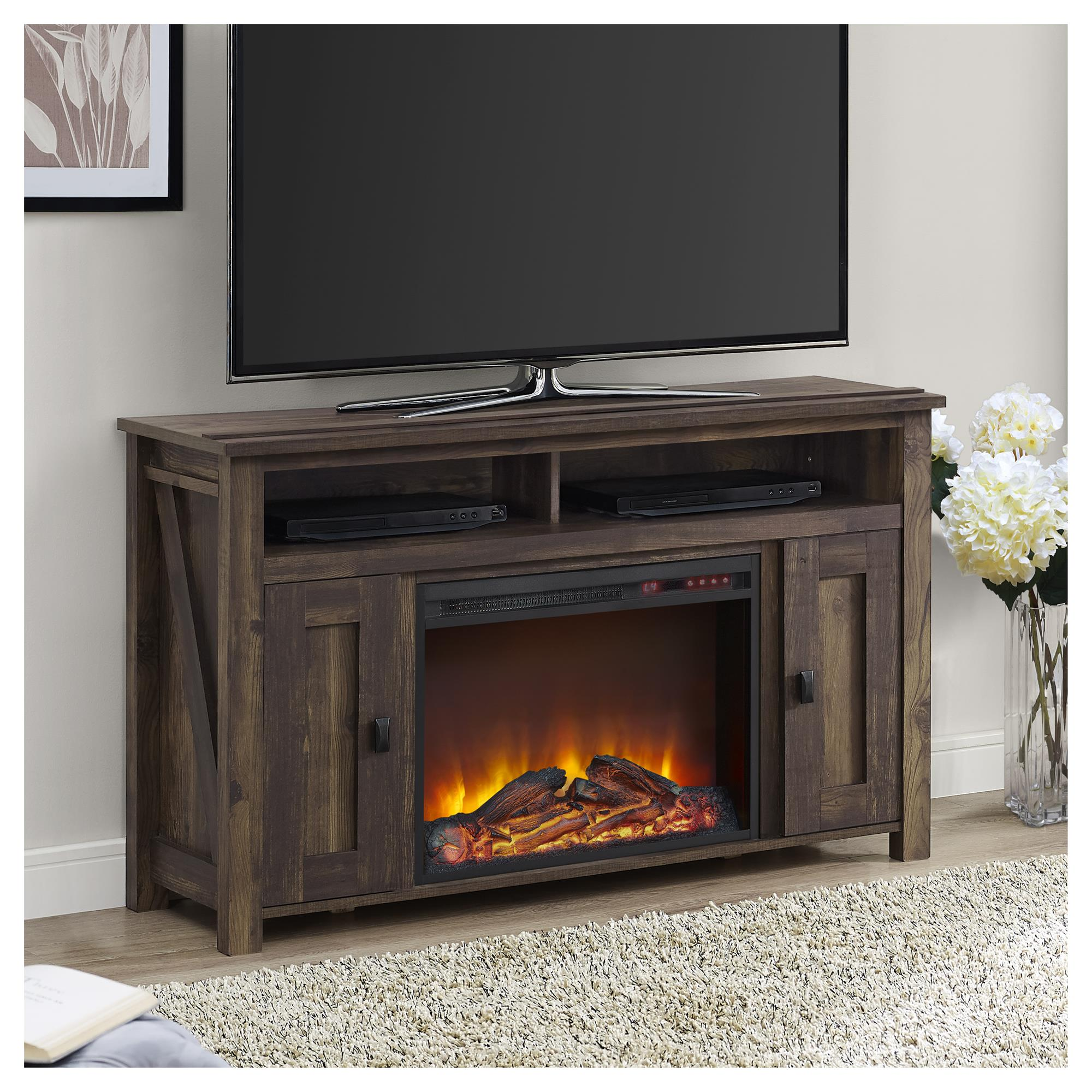 Carlington Electric Fireplace New Farmington Electric Fireplace Tv Console for Tvs Up to 50