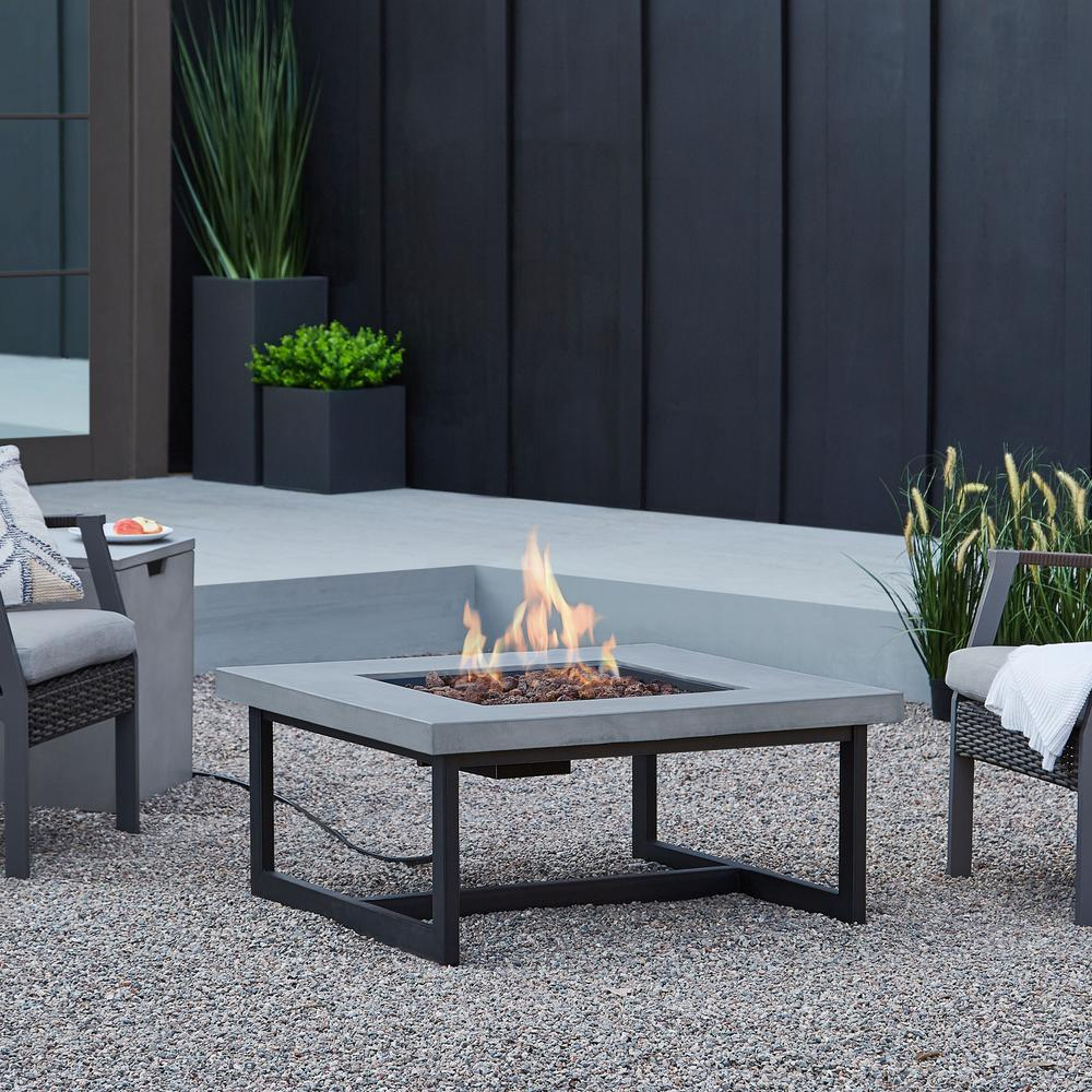 Cast Iron Outdoor Fireplace Fresh Real Flame Brenner 16 In Fiber Concrete Propane Fire Table In Cement
