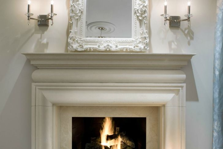 Cast Stone Fireplace Surround Elegant A Beautiful Cast Stone Surround and Hearth Look Like Hand