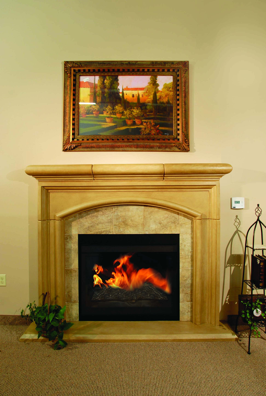 Cast Stone Fireplace Surround Elegant ashland – Stone Mountain Castings & Design