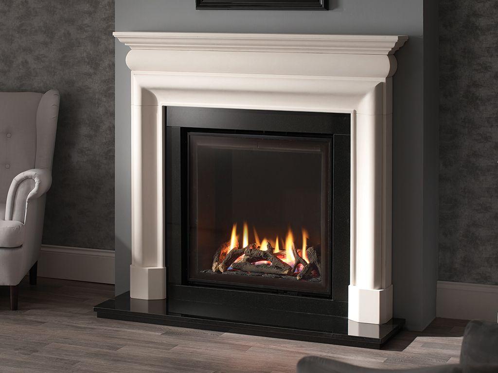 Cast Stone Fireplace Surround Luxury Aegean Limestone Fireplaces