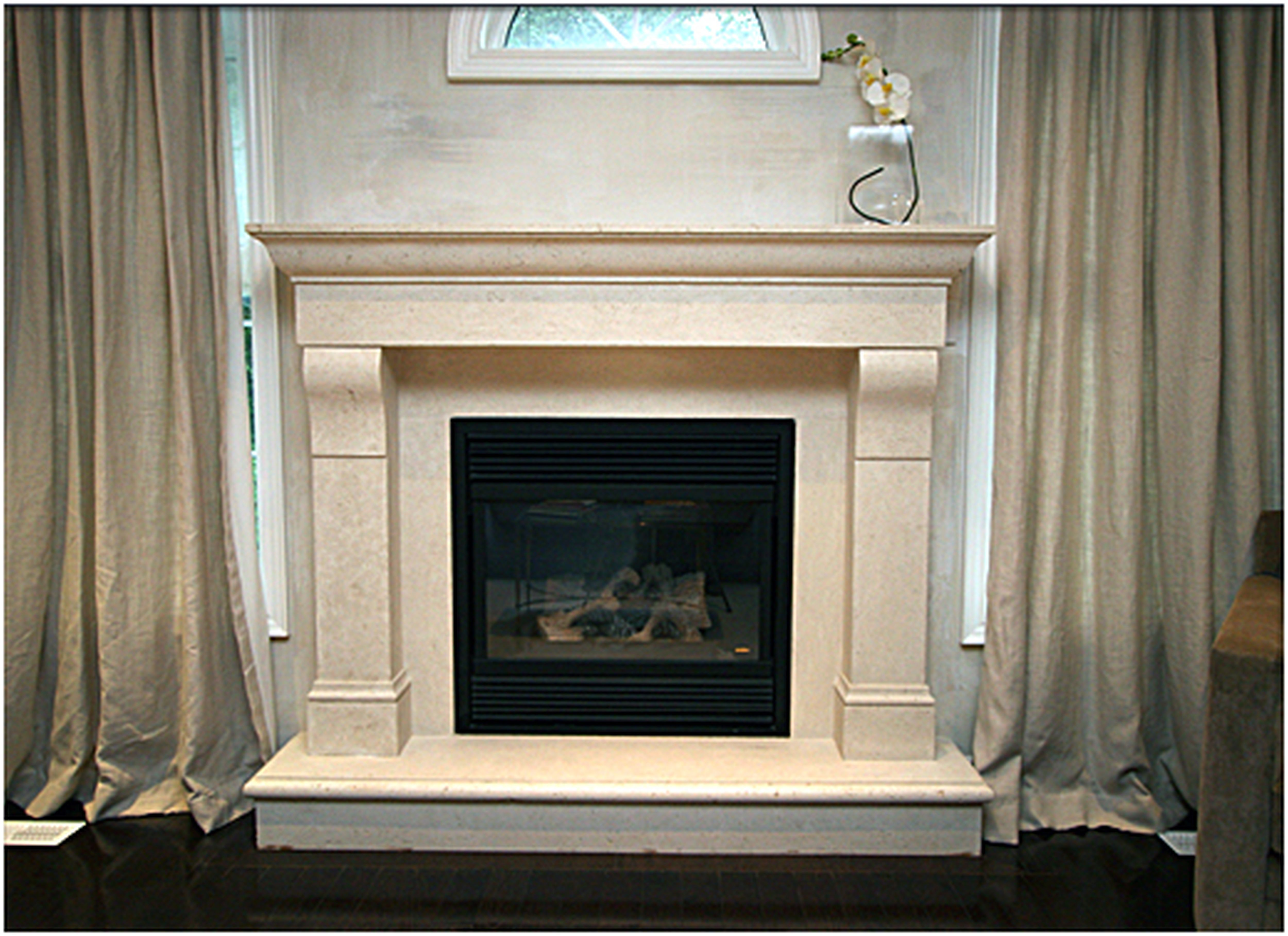 Cast Stone Fireplace Surround New Pin On Master Bedroom Fireplace