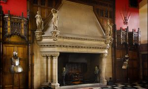 16 Unique Castle Fireplace