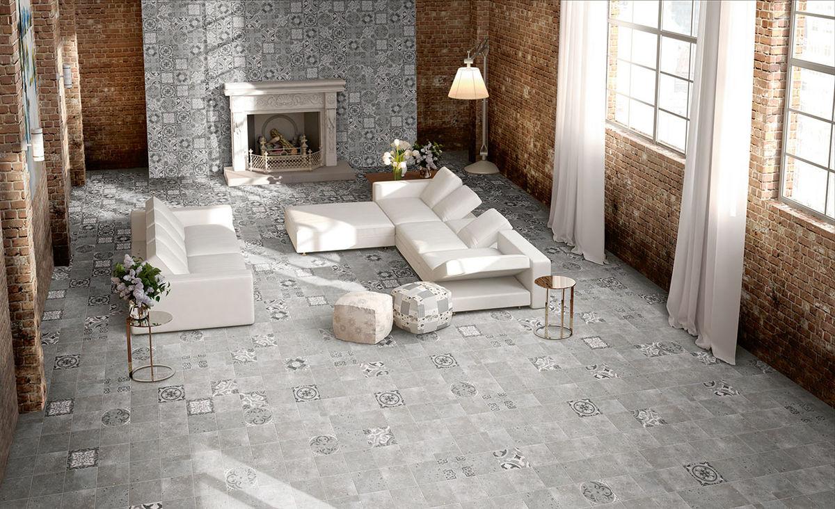 Cement Tile Fireplace Best Of ПРитка Mainzu Colombina Grey 200×200