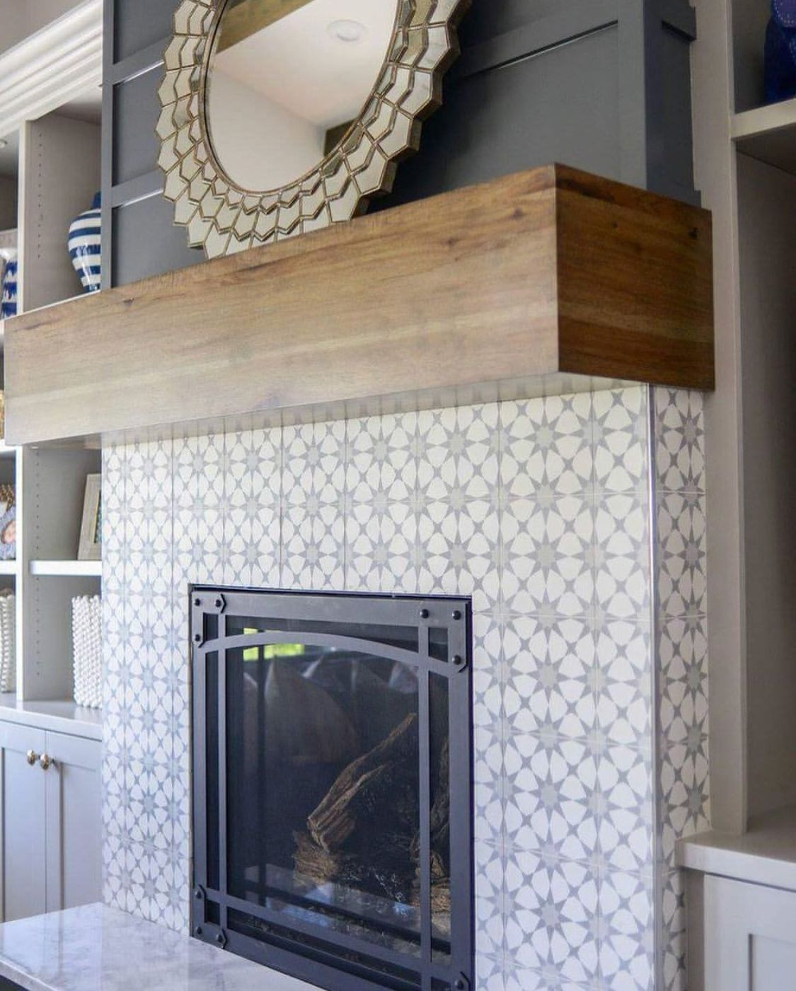 Cement Tile Fireplace Luxury 111 Best Fireplace Images In 2019