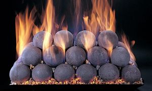 23 Beautiful Ceramic Fireplace Balls