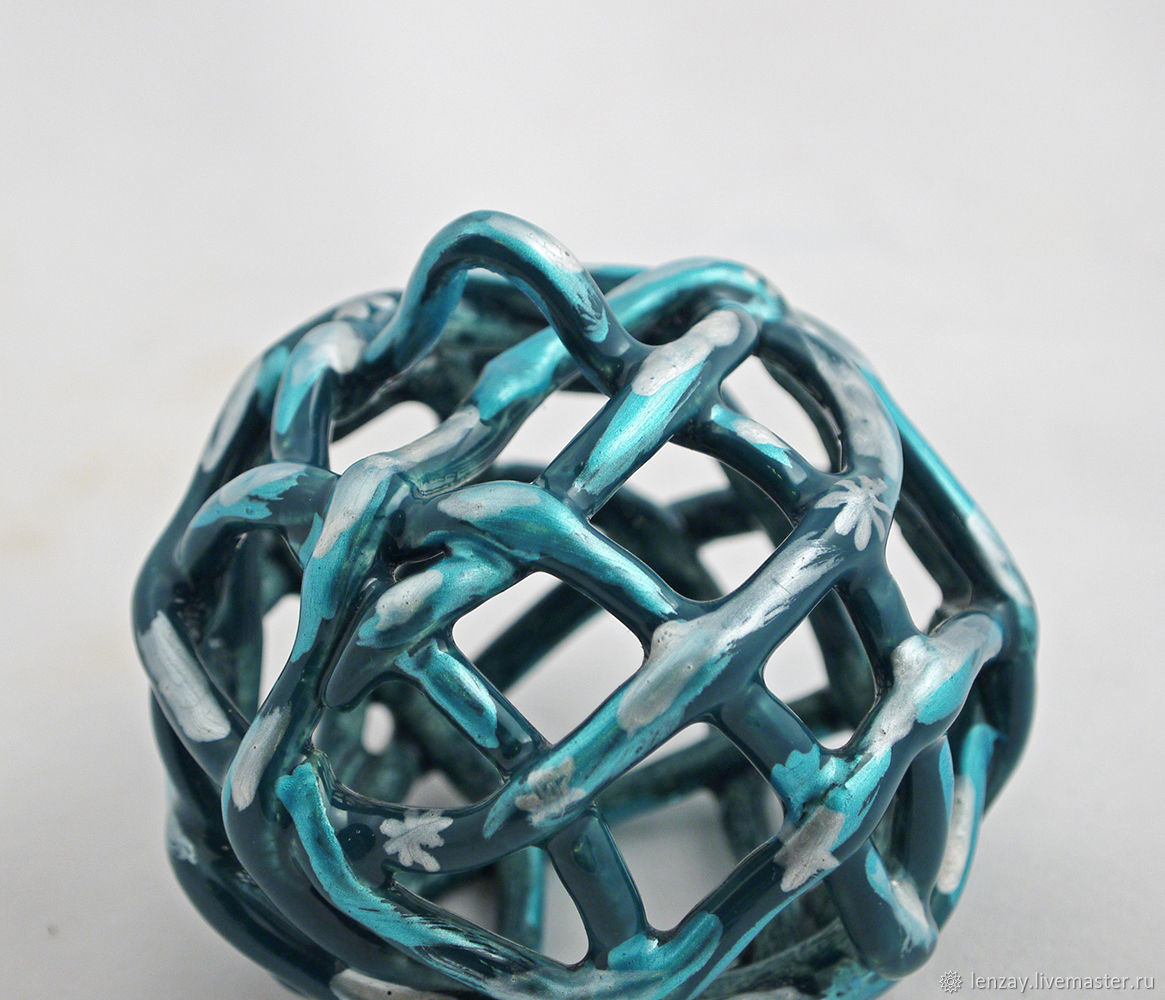 Ceramic Fireplace Balls Fresh Bell Christmas Ball Turquoise – заказать на Ярмарке Мастеров – 33kat