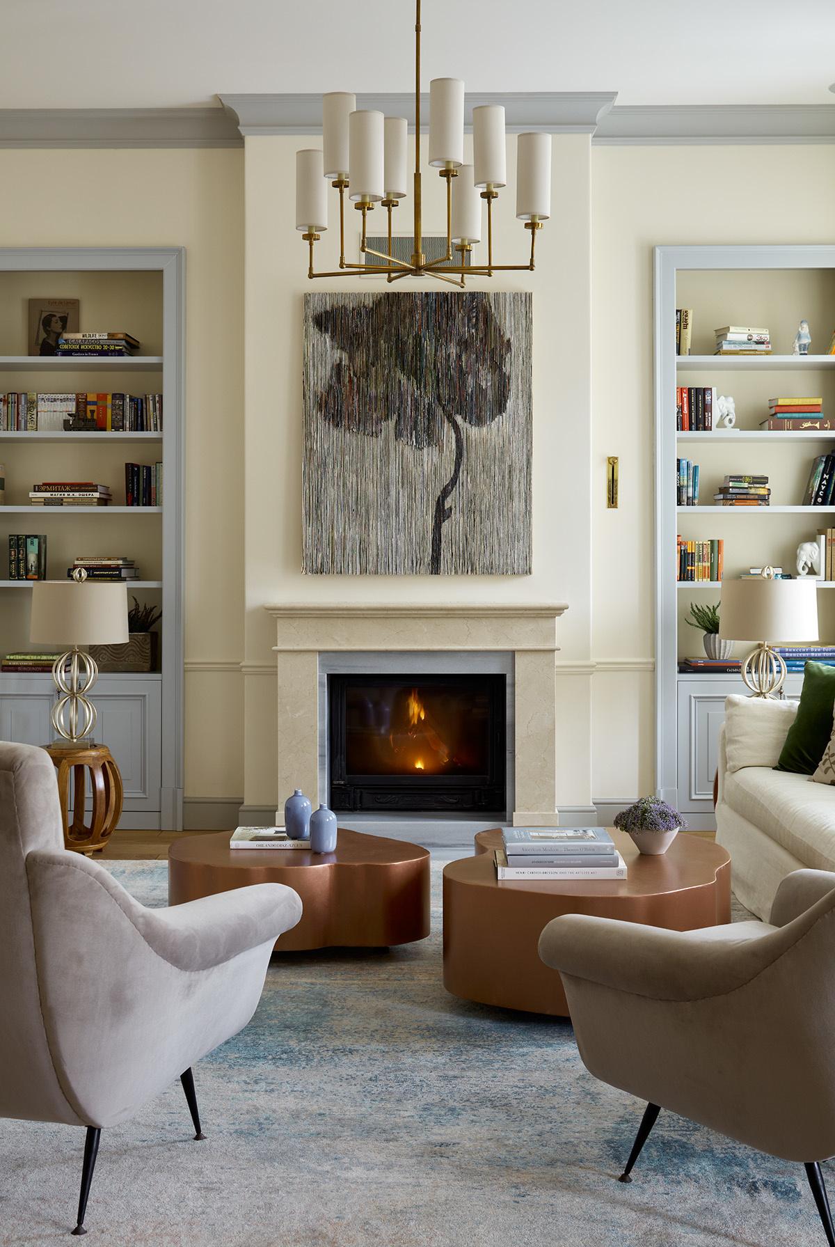 Ceramic Fireplace Balls Lovely Загородный дом 700 м² с современным искусством