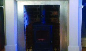 15 Lovely Ceramic Tile Fireplace Surround