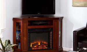 18 Elegant Cherry Wood Electric Fireplace