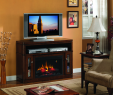 Cherry Wood Electric Fireplace Elegant Electric Fireplace Entertainment Center