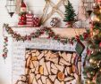 Christmas Garlands for Fireplaces Awesome Modern Farmhouse Christmas Mantle Our Home
