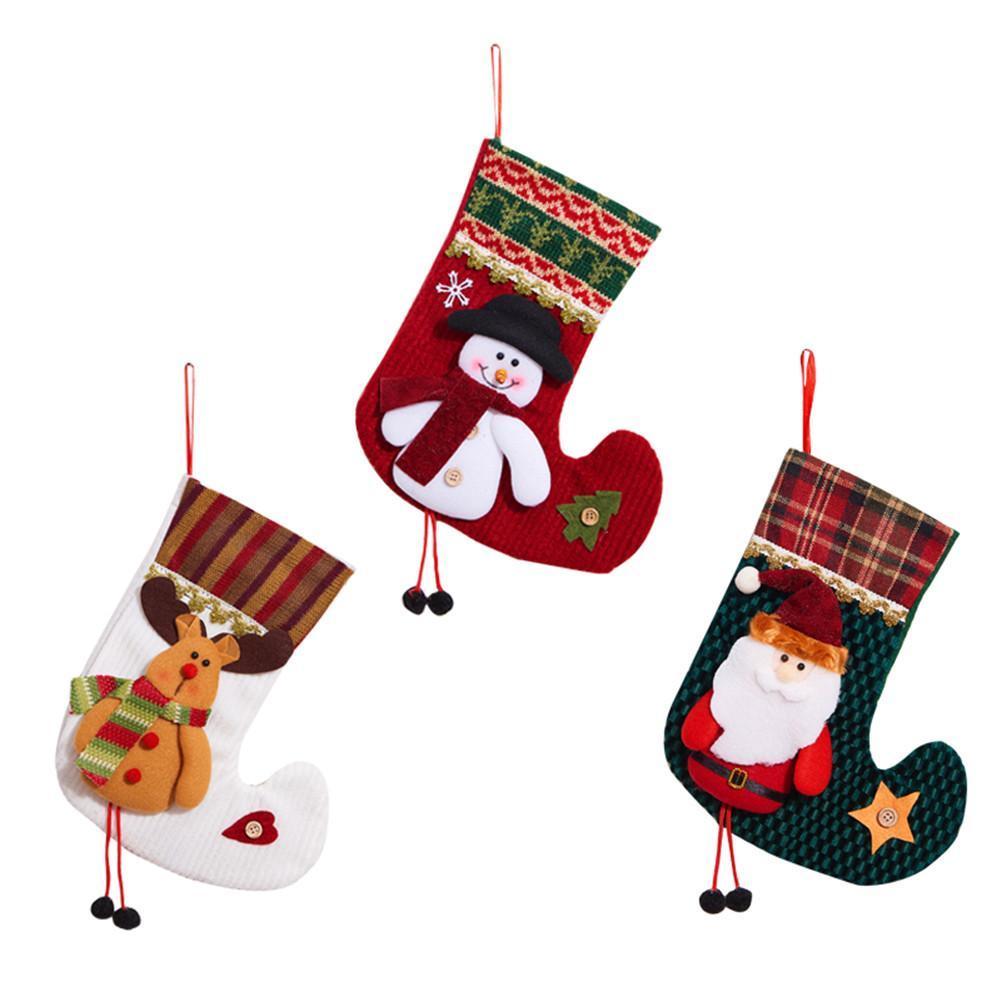 2018 christmas stocking santa claus sock