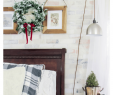 Christmas Garlands for Fireplaces Lovely Turn Old Garland Into A New Wreath In 10 Minutes Pocketful
