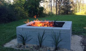 14 Awesome Cinder Block Fireplace