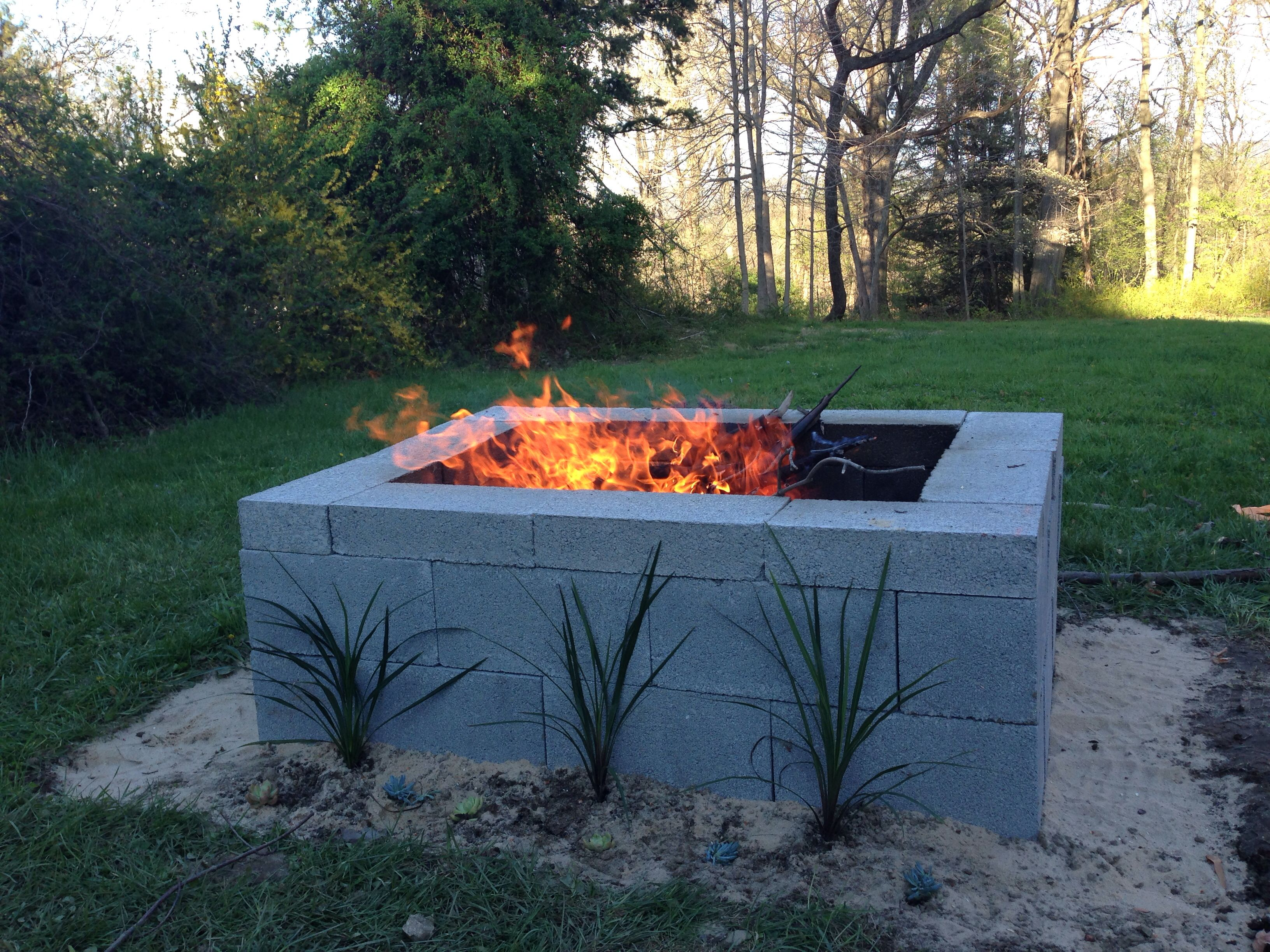 Cinder Block Fireplace Fresh 15 Outstanding Cinder Block Fire Pit Design Ideas for