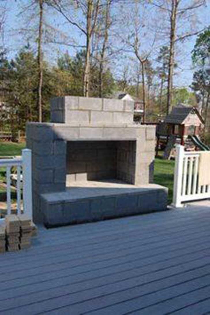 how to build a outdoor fireplace with cinder blocks beautiful dale a tu hogar un giro innovador con estos 10 proyectos que puedes of how to build a outdoor fireplace with cinder blocks