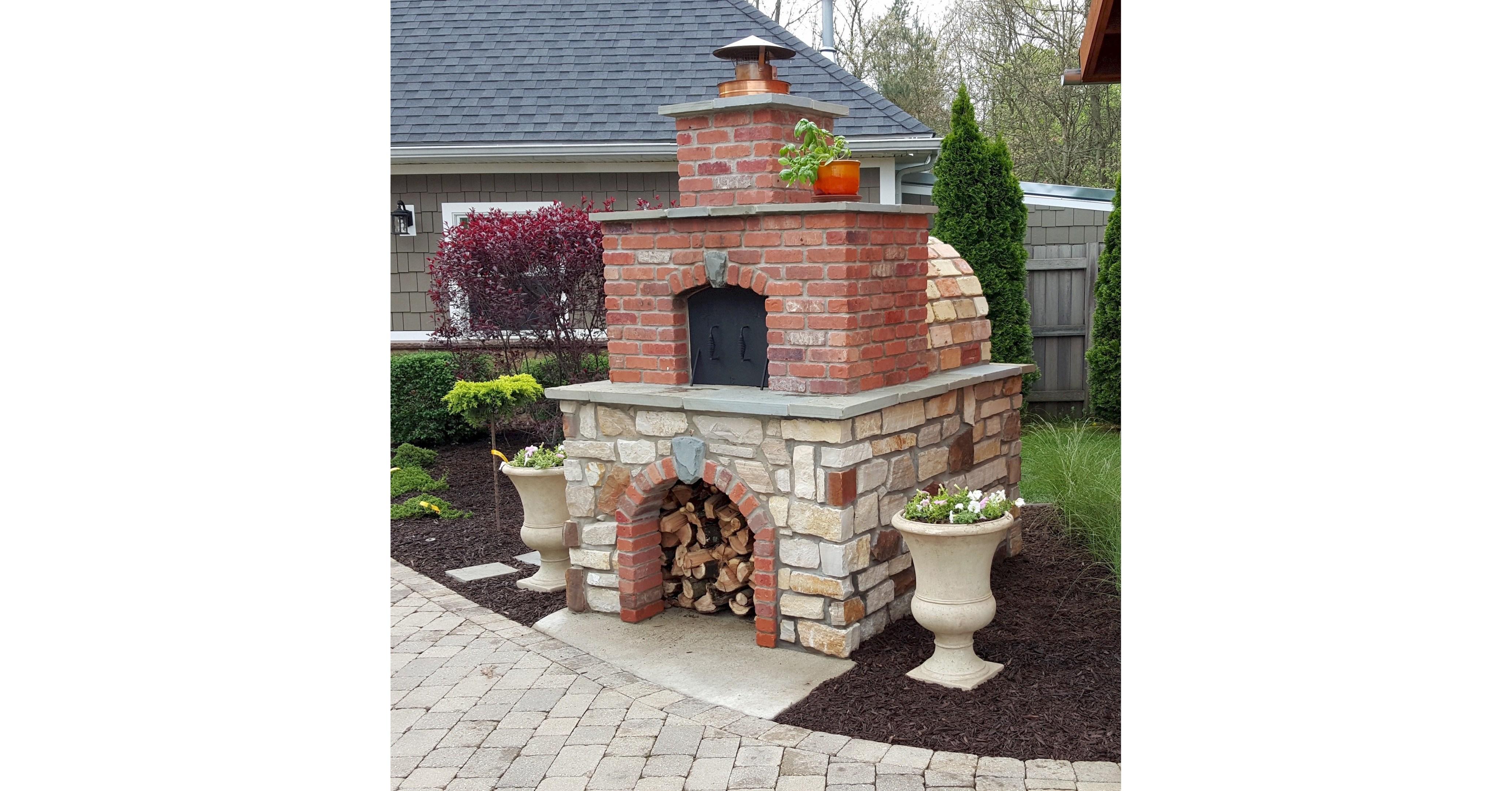 BrickWood Ovens The Hollenbeck Pizza Oven