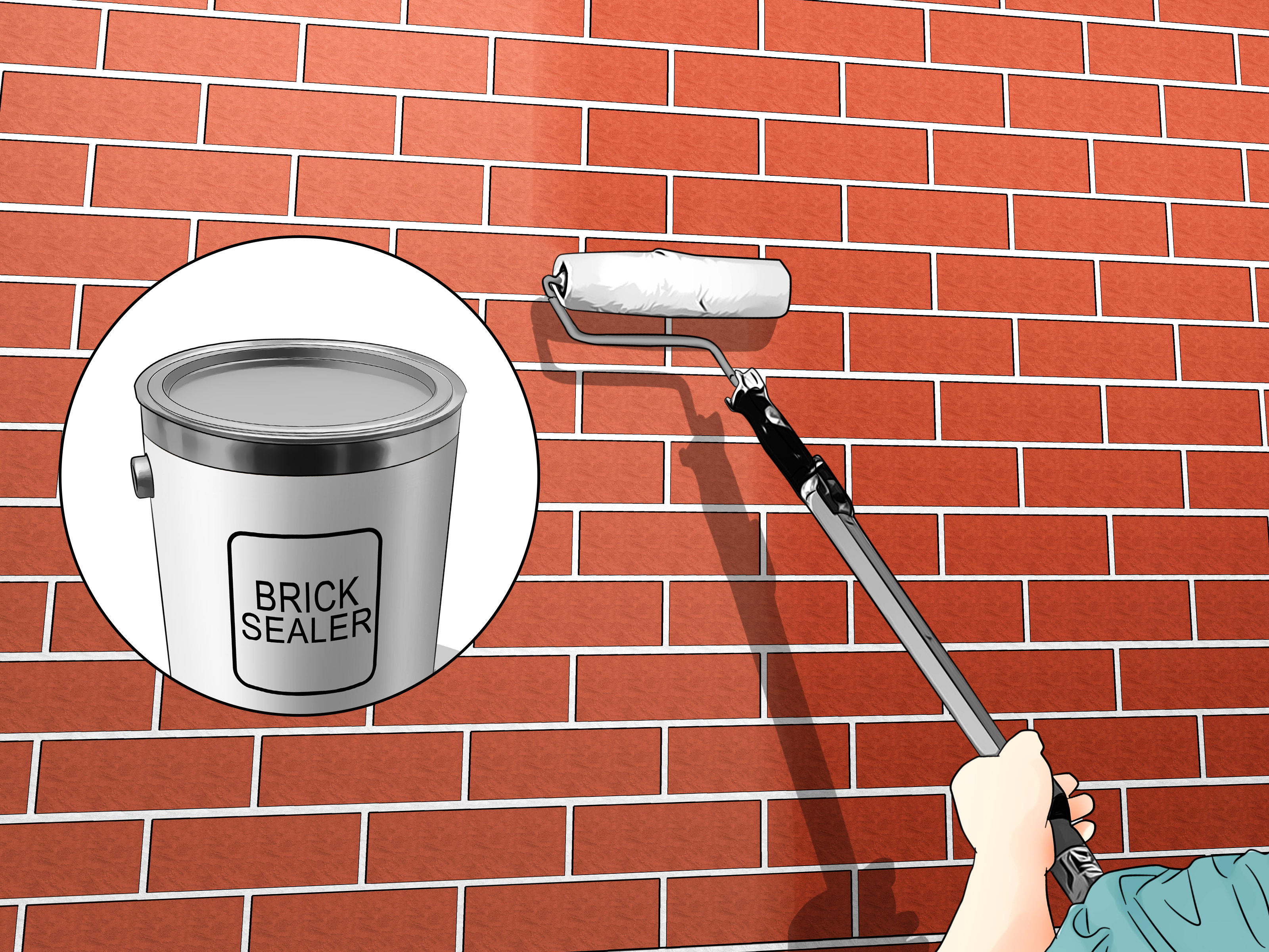 Remove Efflorescence from Brick Step 10