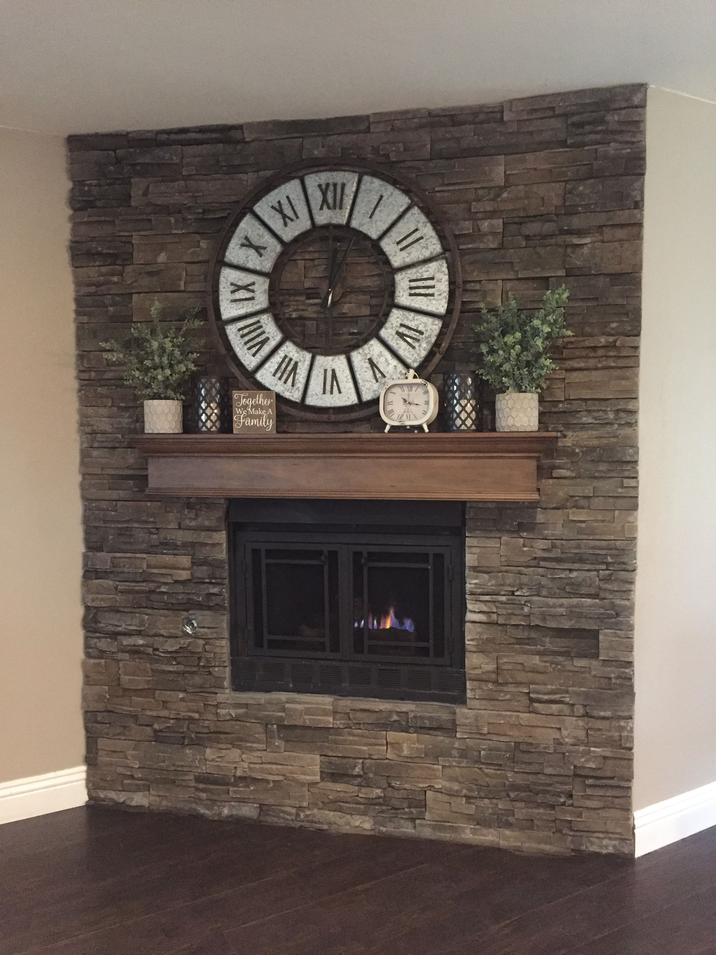 Clock Over Fireplace Beautiful Fireplace Finally Plete ✅ Mantle Hayneedle Pearl