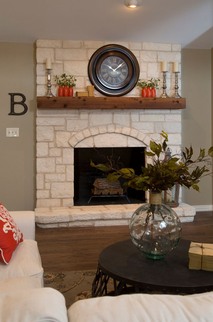Clock Over Fireplace Fresh Pin by Hgtv On Hgtv Shows & Experts