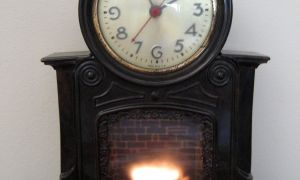 25 Awesome Clock Over Fireplace