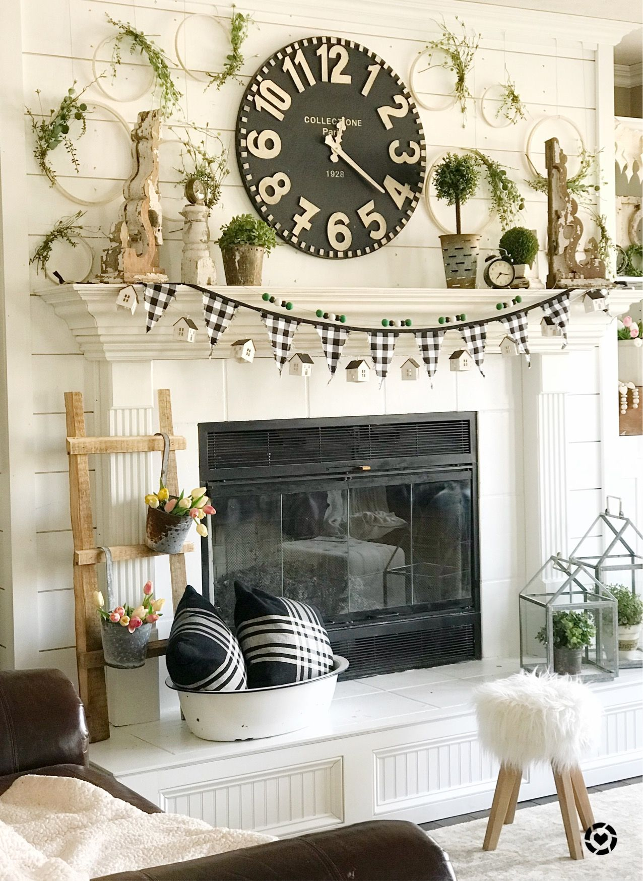 Clock Over Fireplace New Pin by Cynthia Thomas On Home Ideas and Inspiration