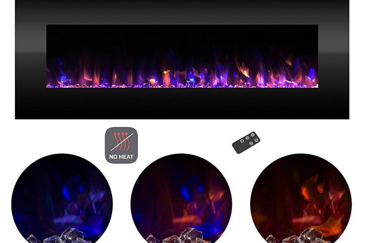 Color Changing Fireplace Luxury Electric Fireplace Wall Mount Color Changing Led No Heat