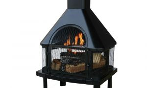 25 Luxury Connan Steel Wood Burning Outdoor Fireplace