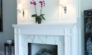 30 Fresh Contemporary Fireplace Mantel Design Ideas