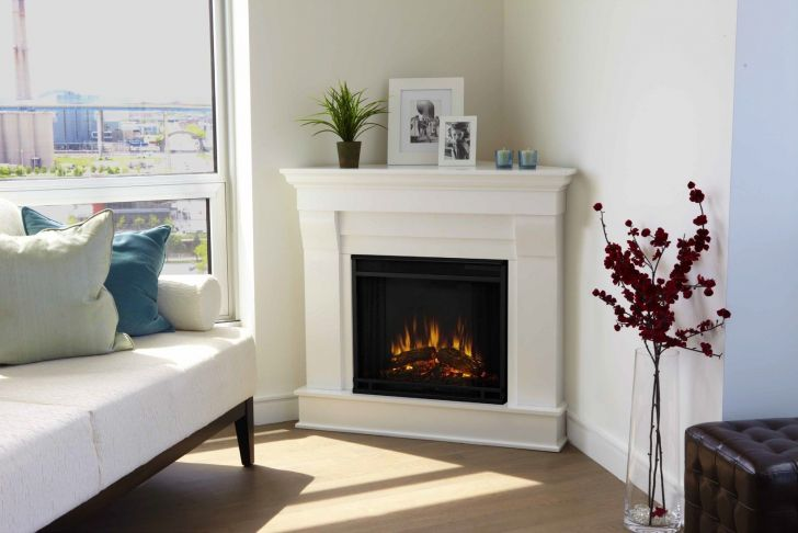 Corner Gel Fireplace Fresh Best White Real Looking Electric Fireplace